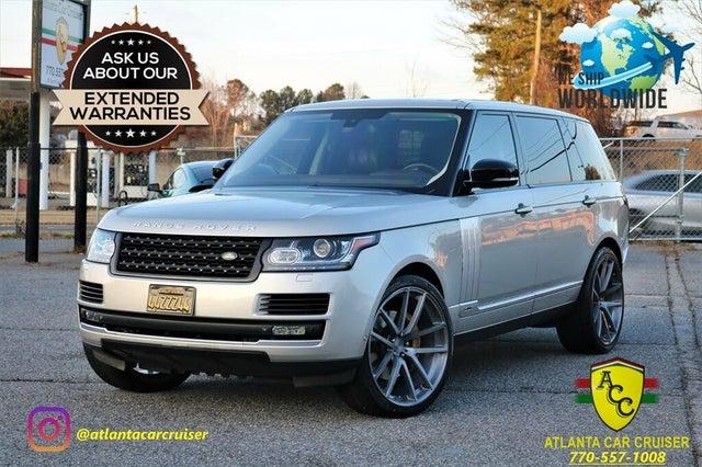 2015 Land Rover Range Rover V8 Autobiography LWB 4WD