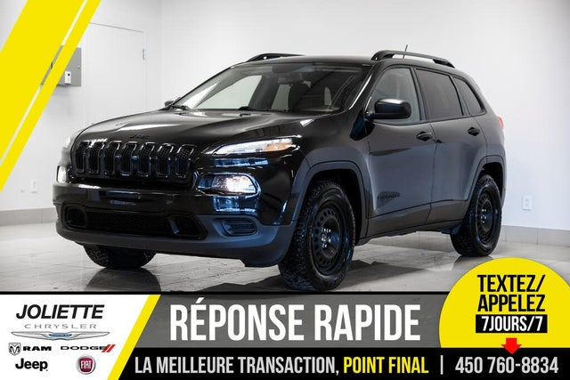 2016 Jeep Cherokee Sport Altitude 4WD