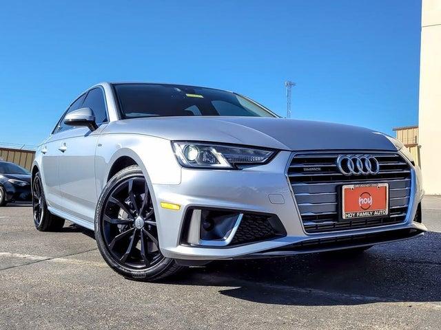 2019 Audi A4 2.0T quattro Premium AWD