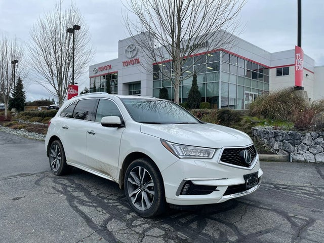 2019 Acura MDX SH-AWD with Elite 6-Passenger Package