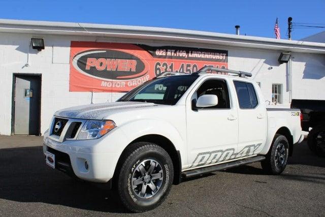 2017 Nissan Frontier PRO-4X Crew Cab 4WD