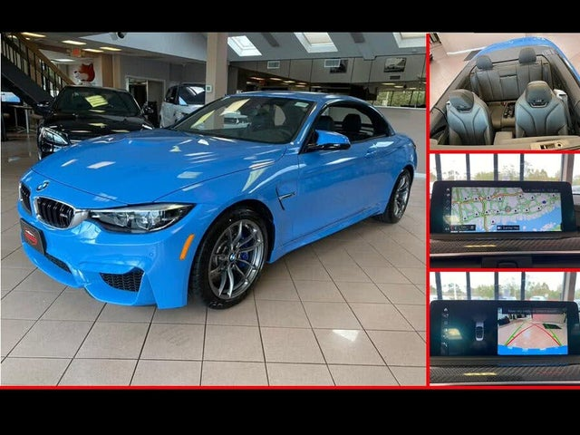 2020 BMW M4 Convertible RWD