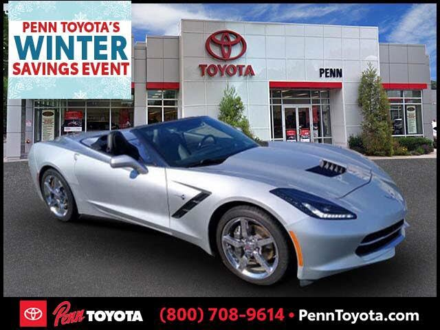 2014 Chevrolet Corvette Stingray 2LT Convertible RWD