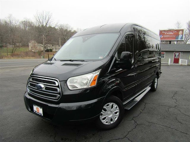 2015 Ford Transit Cargo 250 3dr LWB Medium Roof w/Sliding Passenger Side Door