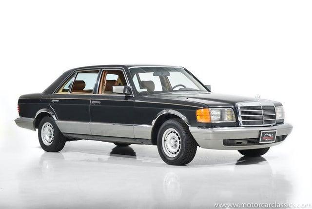 1985 Mercedes-Benz 500-Class 500SEL Sedan