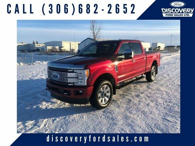 2017 Ford F-350 Super Duty Platinum Crew Cab 4WD