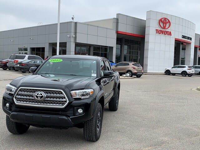 2017 Toyota Tacoma TRD Off Road V6 Double Cab 4WD