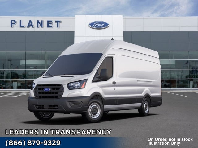 2021 Ford Transit Cargo 350 HD 10360 GVWR High Roof Extended LB DRW RWD