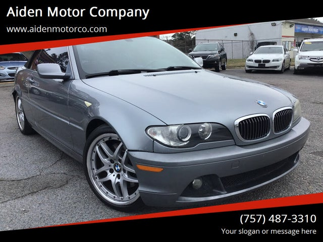2004 BMW 3 Series 330Ci Convertible RWD