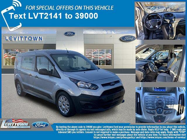 2017 Ford Transit Connect Cargo XL LWB FWD with Rear Liftgate