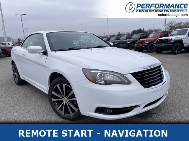 2012 Chrysler 200 S Convertible FWD