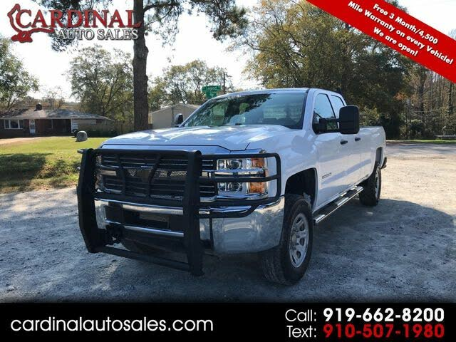 2015 Chevrolet Silverado 3500HD Work Truck Double Cab LB 4WD