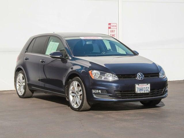 2016 Volkswagen Golf 1.8T SEL 4-Door FWD