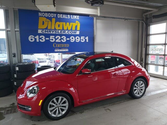 2015 Volkswagen Beetle 1.8T with Sunroof, Sound, and Navigation