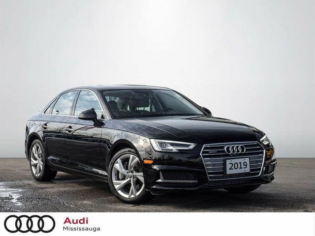 2019 Audi A4 2.0T quattro Progressiv AWD