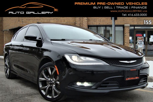 2015 Chrysler 200 S Sedan AWD