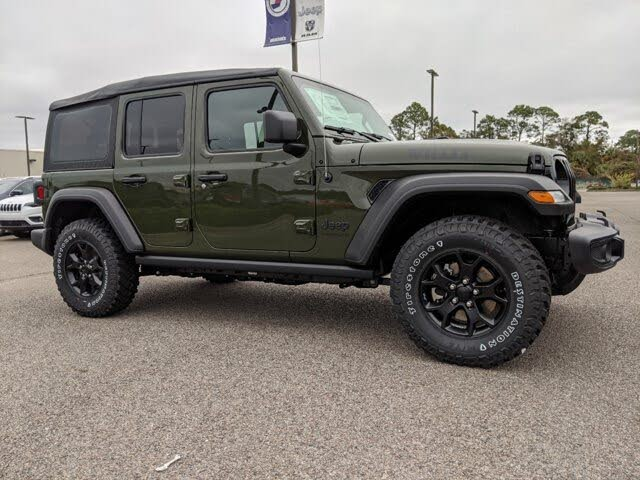 2021 Jeep Wrangler Unlimited Willys 4WD