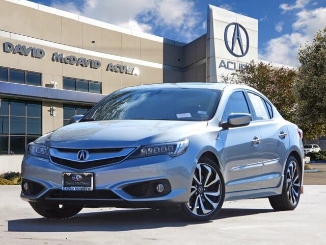 2018 Acura ILX FWD with Technology Plus and A-Spec Package