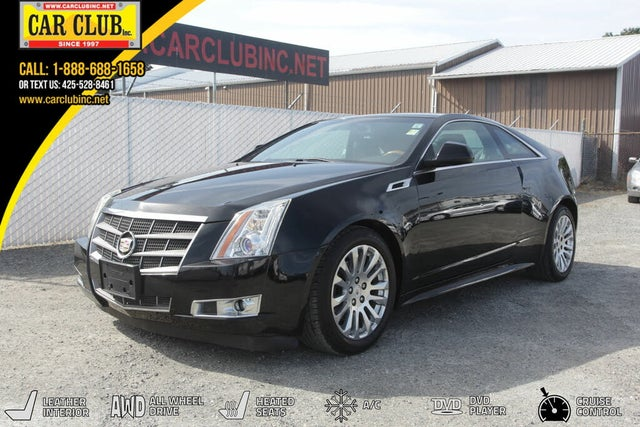 2011 Cadillac CTS Coupe 3.6L Performance AWD