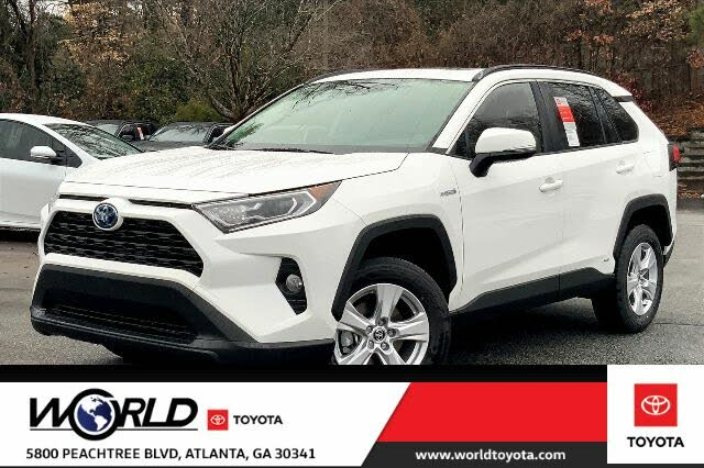 2021 Toyota RAV4 Hybrid XLE AWD
