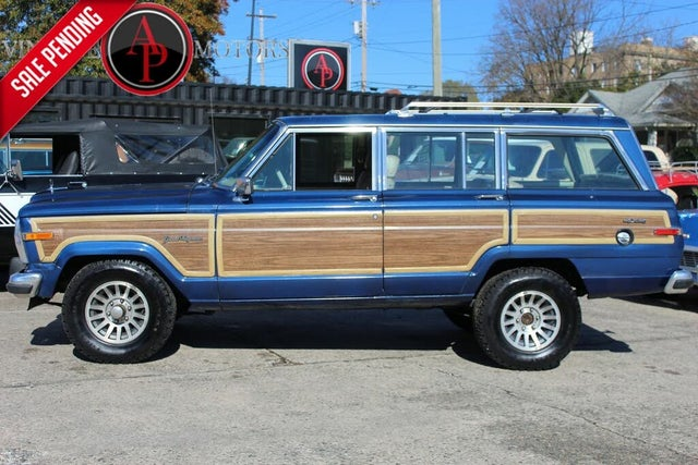 1989 Jeep Grand Wagoneer 4 Dr STD 4WD SUV