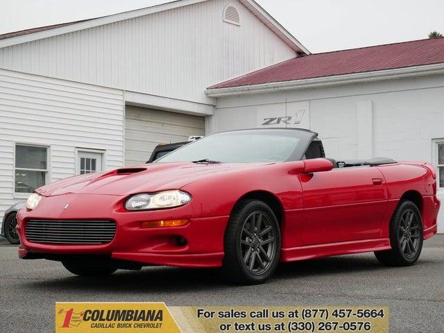 2002 Chevrolet Camaro Z28 Convertible RWD