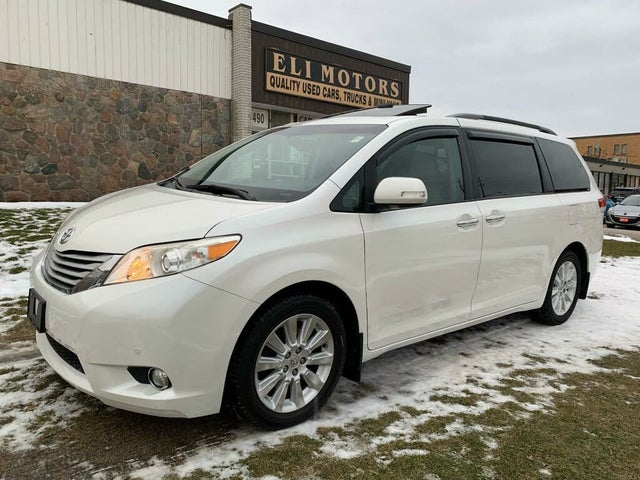 2013 Toyota Sienna Limited 7-Passenger AWD