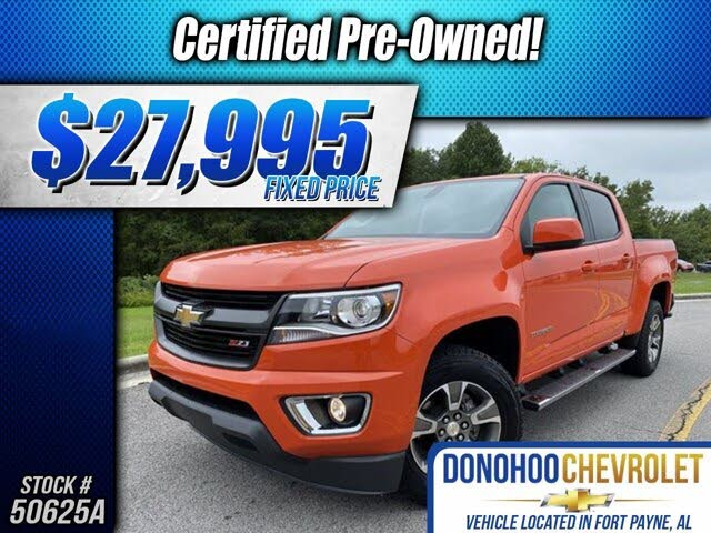 2019 Chevrolet Colorado Z71 Crew Cab RWD