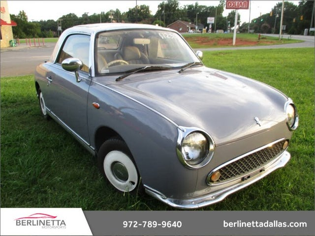 1991 Nissan Figaro Fixed Profile Convertible FWD