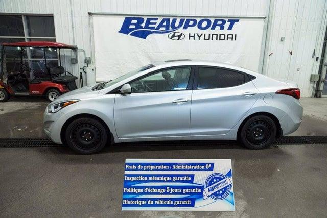 2016 Hyundai Elantra Sport Sedan FWD