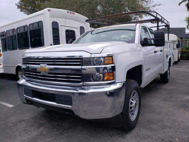 2017 Chevrolet Silverado 2500HD Work Truck Double Cab 4WD