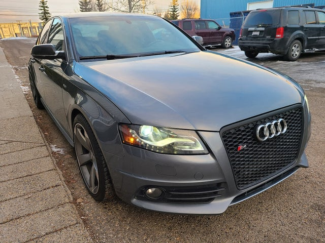 2012 Audi S4 3.0T quattro Premium Sedan AWD