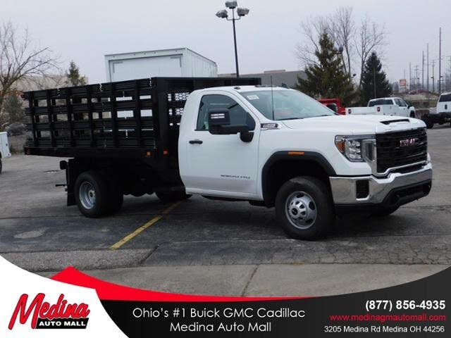 2020 GMC Sierra 3500HD Chassis 4WD