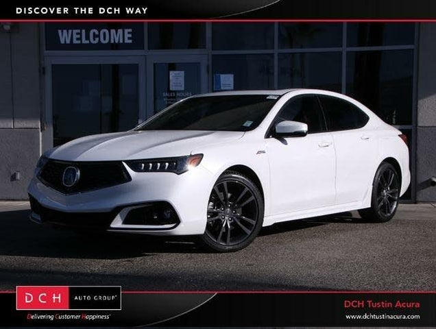 2020 Acura TLX V6 A-Spec FWD with Technology Package
