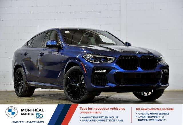 2021 BMW X6 xDrive40i AWD