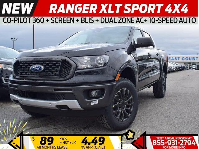 2020 Ford Ranger XLT SuperCrew 4WD