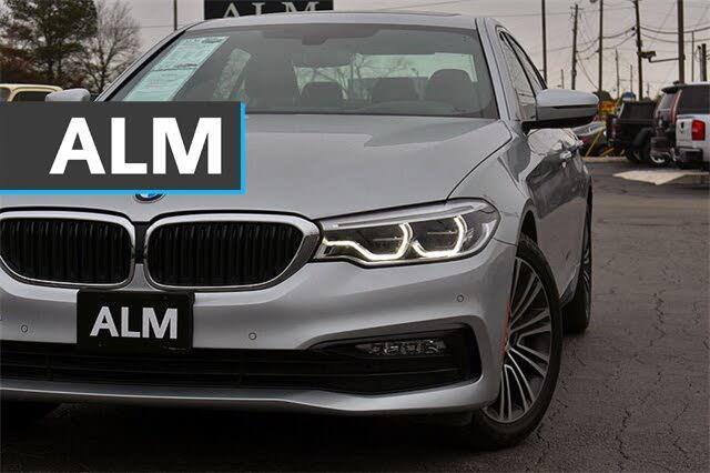 2017 BMW 5 Series 540i xDrive Sedan AWD