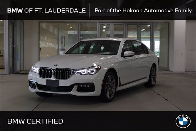 2018 BMW 7 Series 750i xDrive AWD