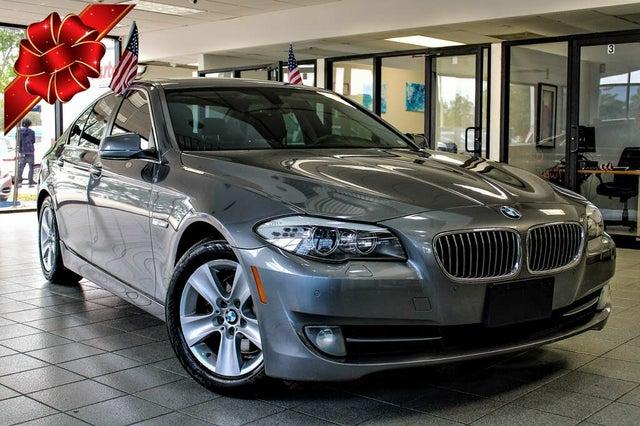 2013 BMW 5 Series 528i Sedan RWD