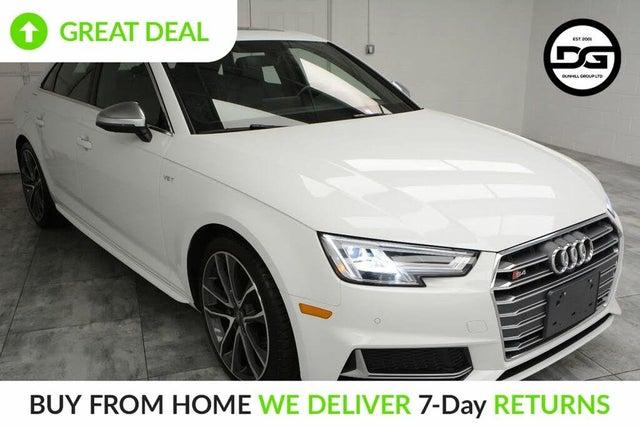 2018 Audi S4 3.0T quattro Premium Plus Sedan AWD
