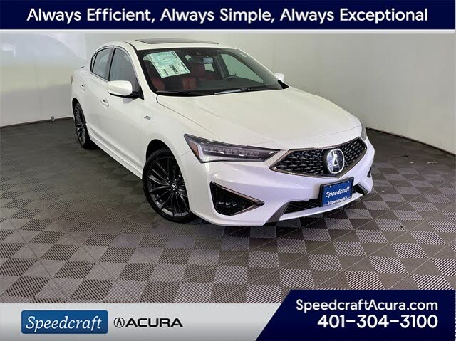 2021 Acura ILX FWD with Technology and A-SPEC Package