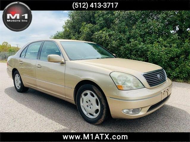 2001 Lexus LS 430 430 RWD