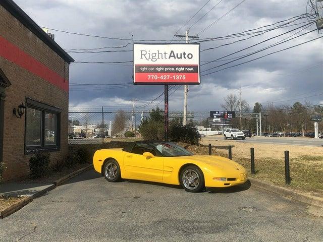 2000 Chevrolet Corvette Convertible RWD