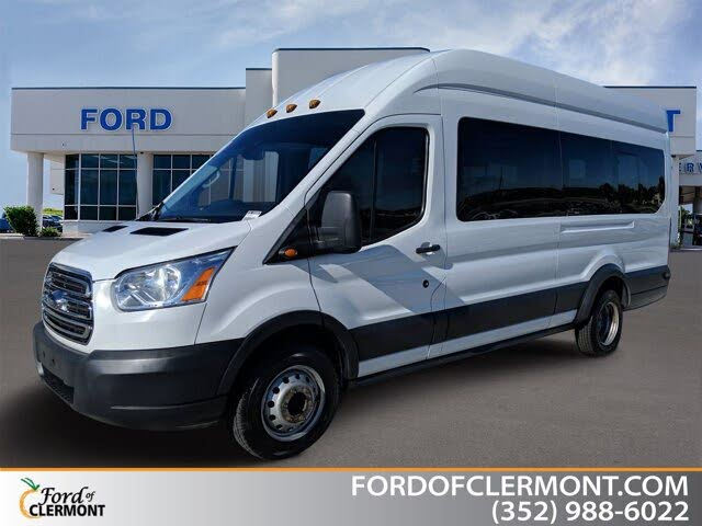 2018 Ford Transit Passenger 350 HD XLT Extended High Roof LWB DRW RWD with Sliding Passenger-Side Door