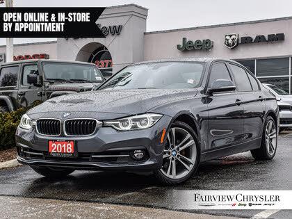 2018 BMW 3 Series 330i xDrive Sedan AWD