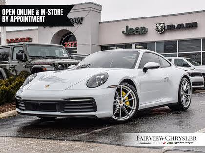 2020 Porsche 911 Carrera 4 Coupe AWD