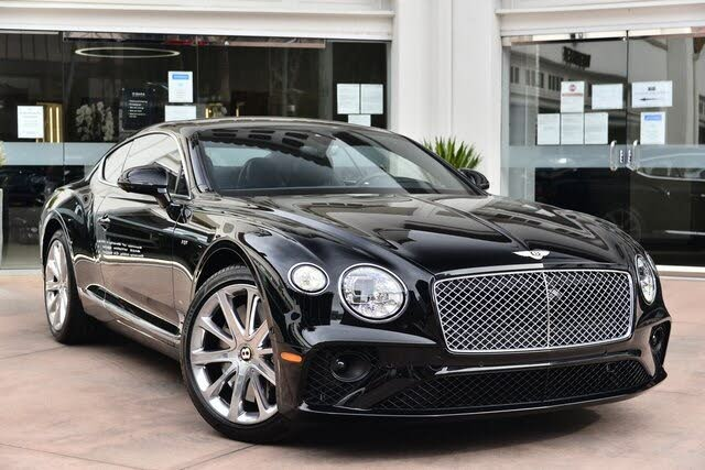 2020 Bentley Continental GT V8 Coupe AWD