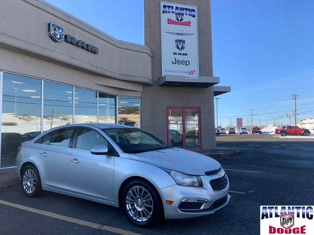 2015 Chevrolet Cruze Eco Sedan FWD