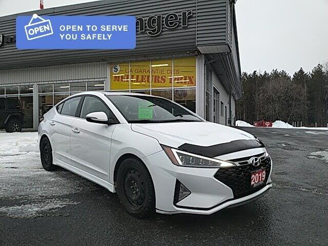 2019 Hyundai Elantra Sport Sedan FWD