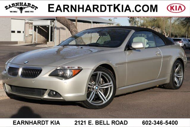 2007 BMW 6 Series 650i Convertible RWD